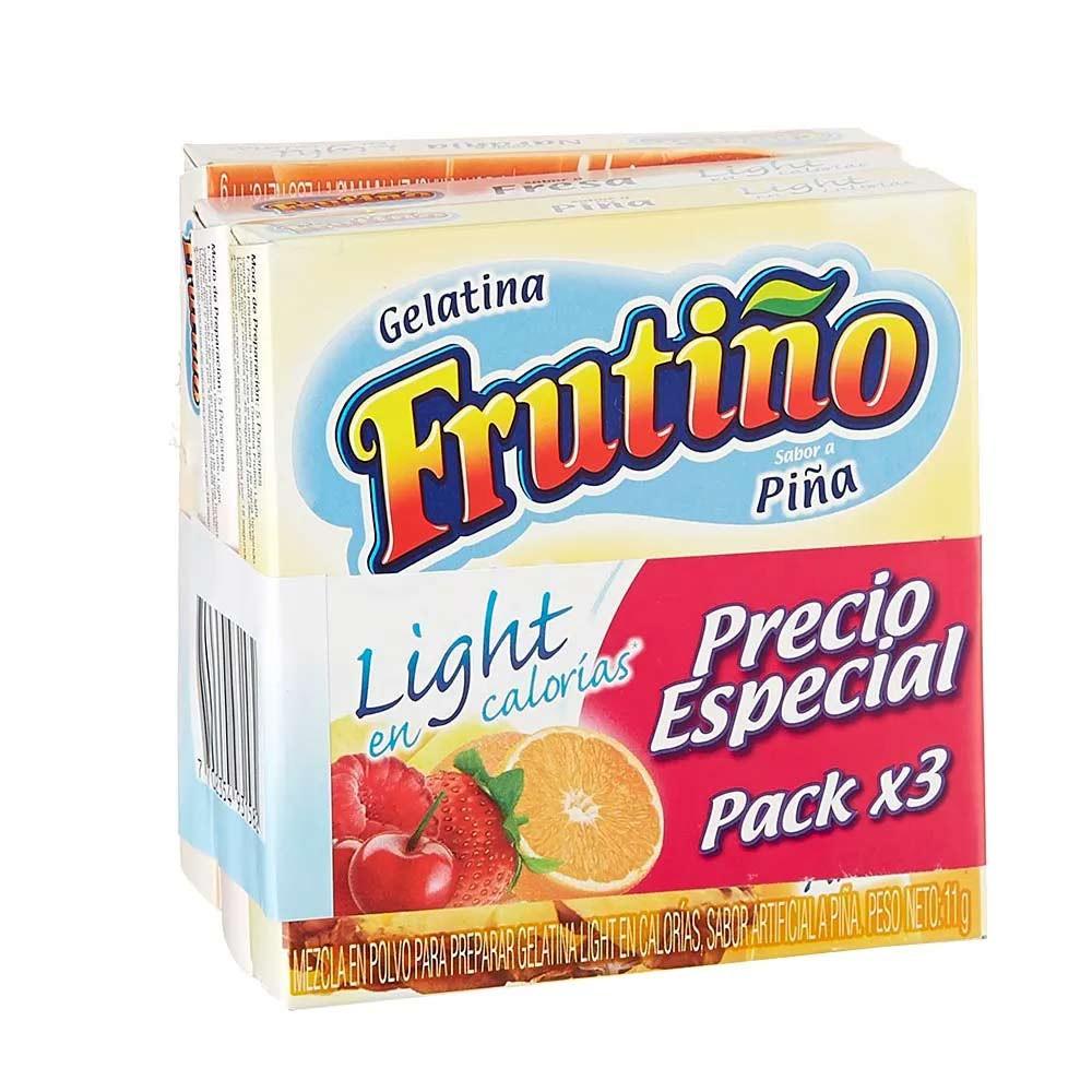 Gelatina Frutiño light