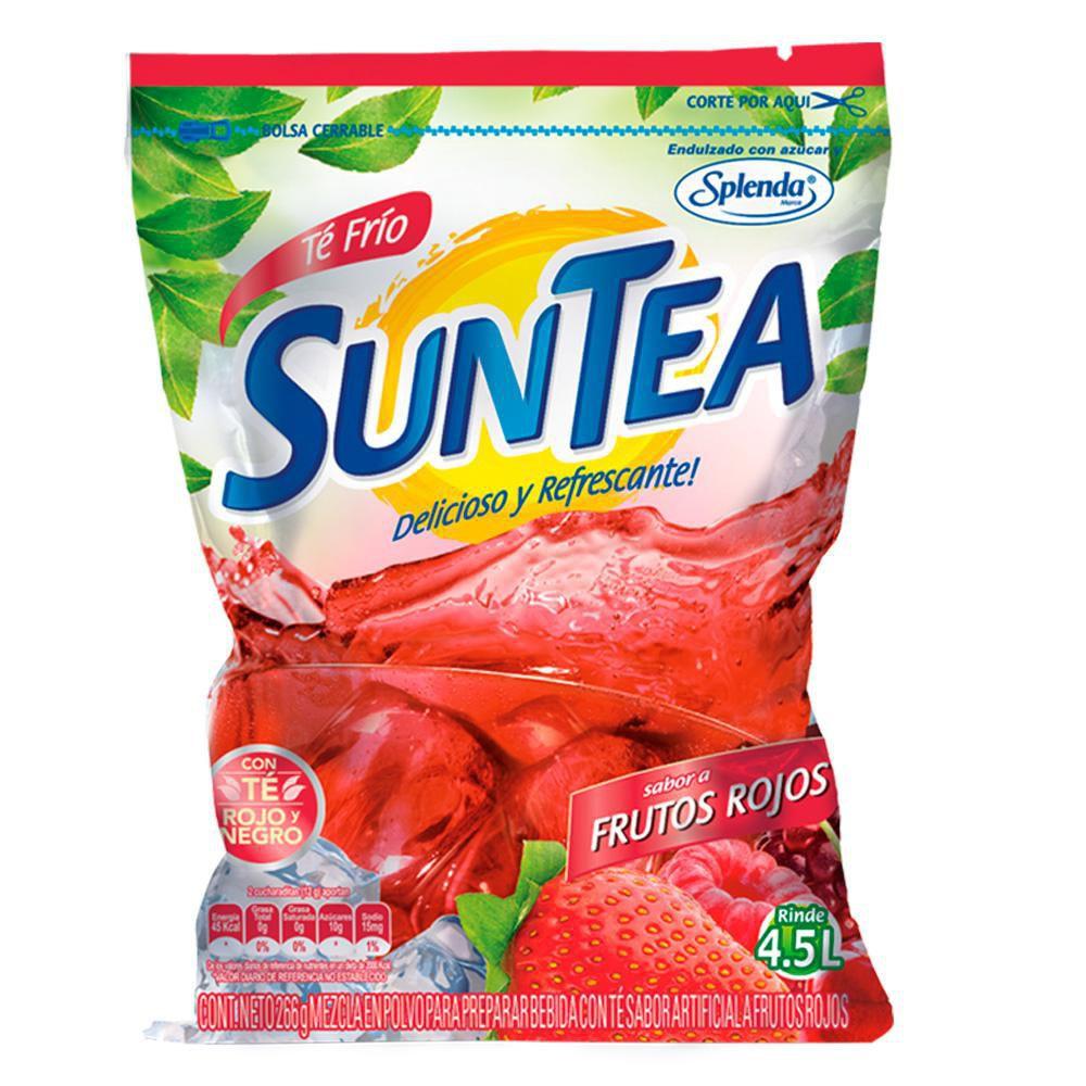 Mezcla de té en polvo frutos rojos Suntea