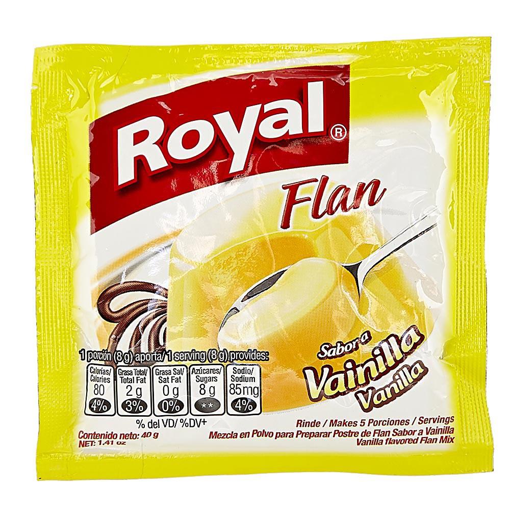 Flan Royal vainilla