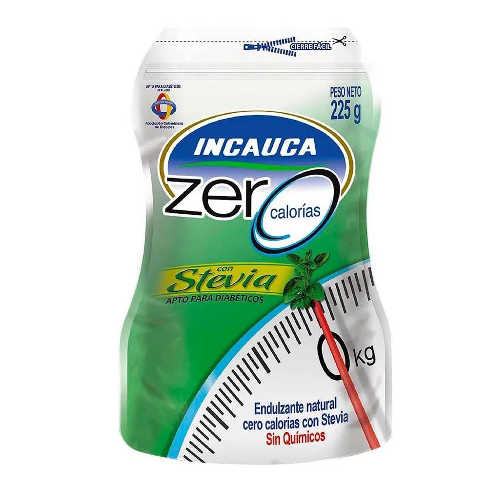 Incauca zero calorías con stevia Doypack por 225 g