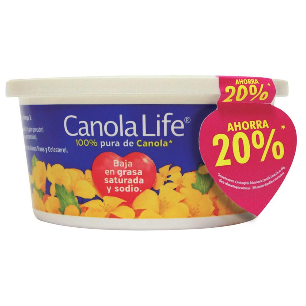 Margarina Canola life esparcible x 454 g precio especial