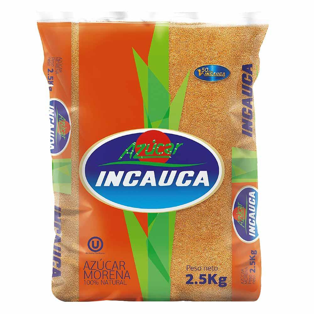 Azúcar Incauca Morena x 2. 5 Kg