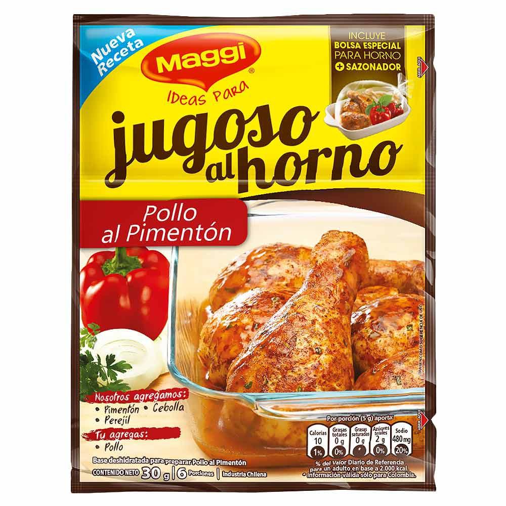 Base sazonadora pollo al pimentón