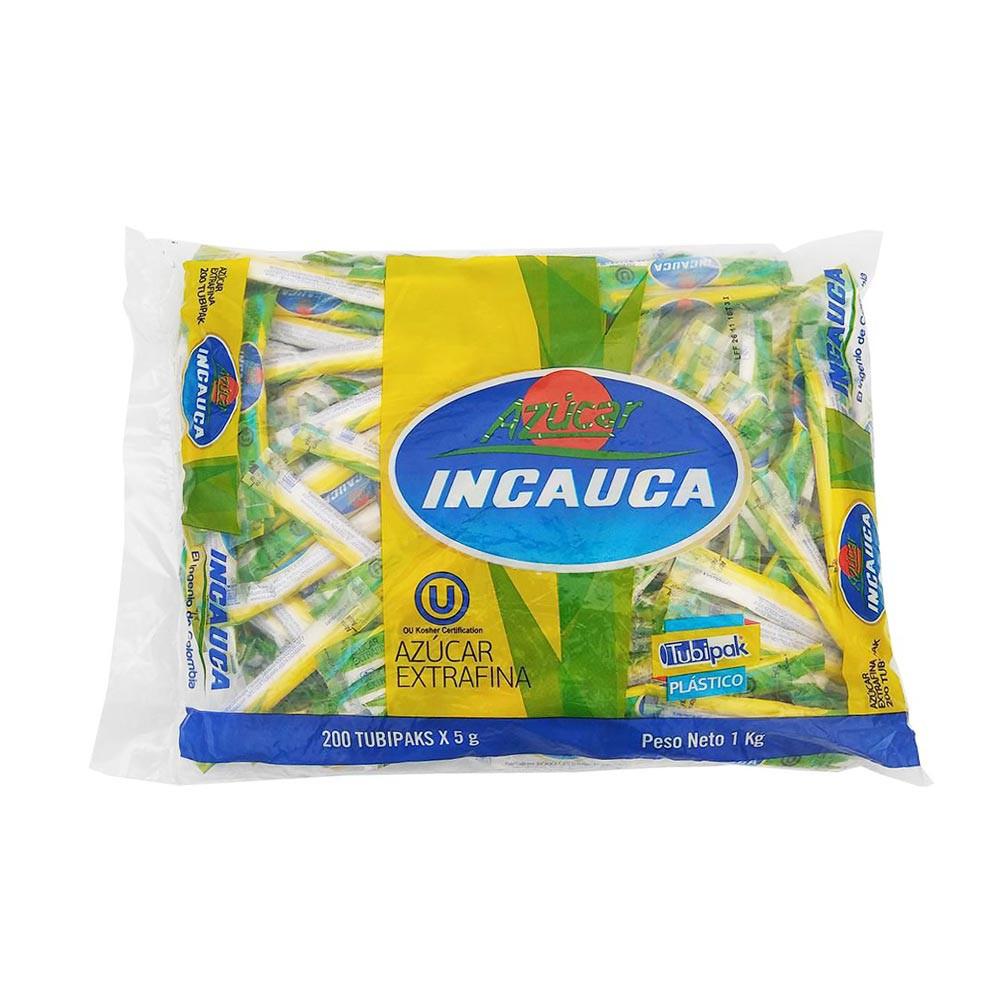 Azúcar Incauca Extrafina 200 sobres