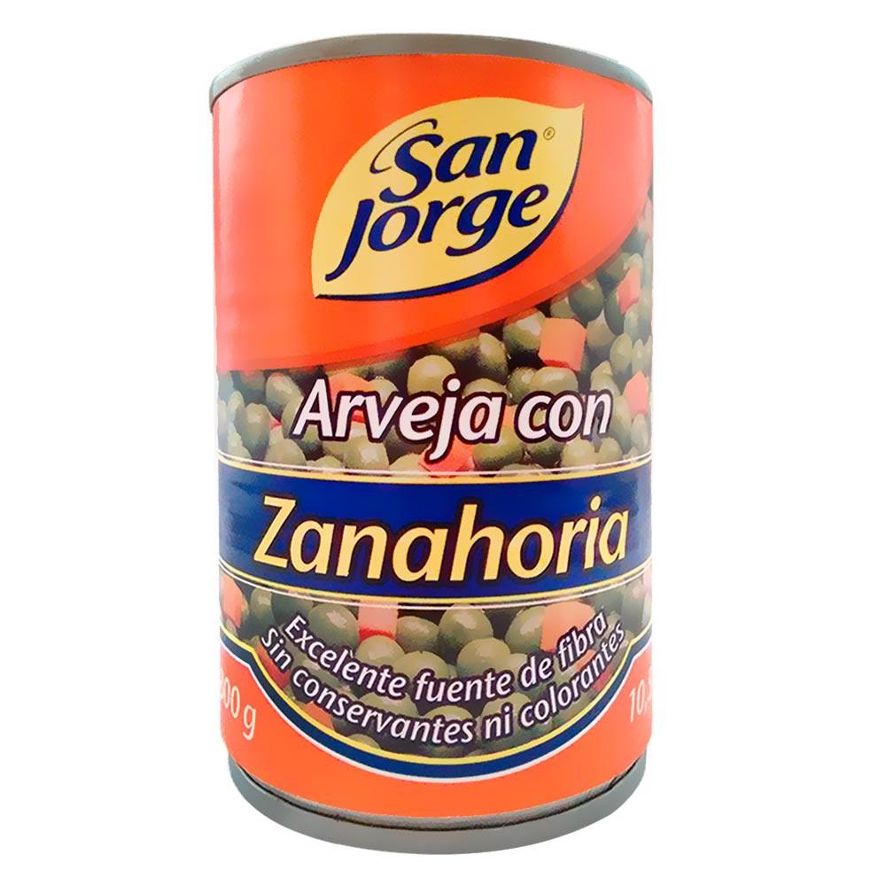 Arveja Con Zanahoria San Jorge