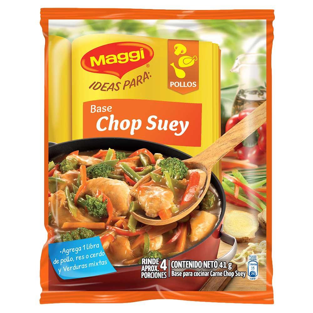 Base para pollo chop suey