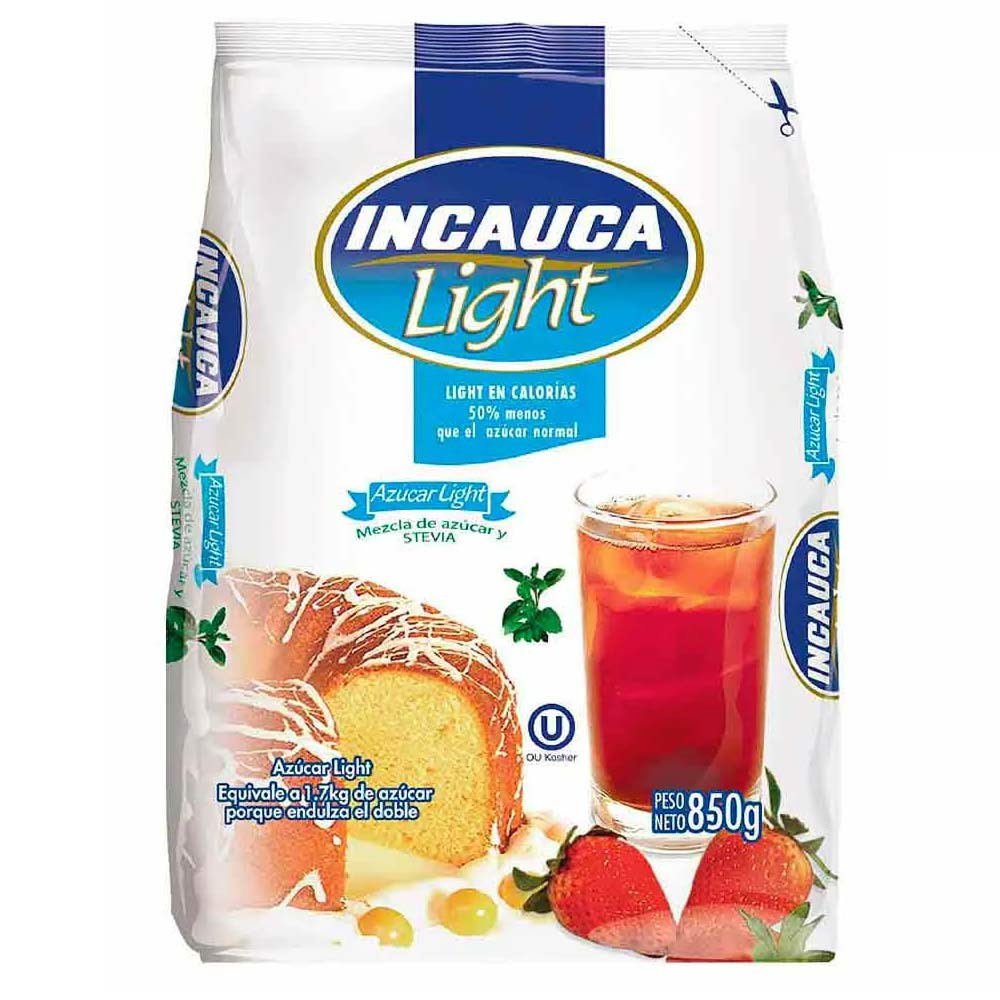 Azúcar Incauca light Bolsa x 850 g
