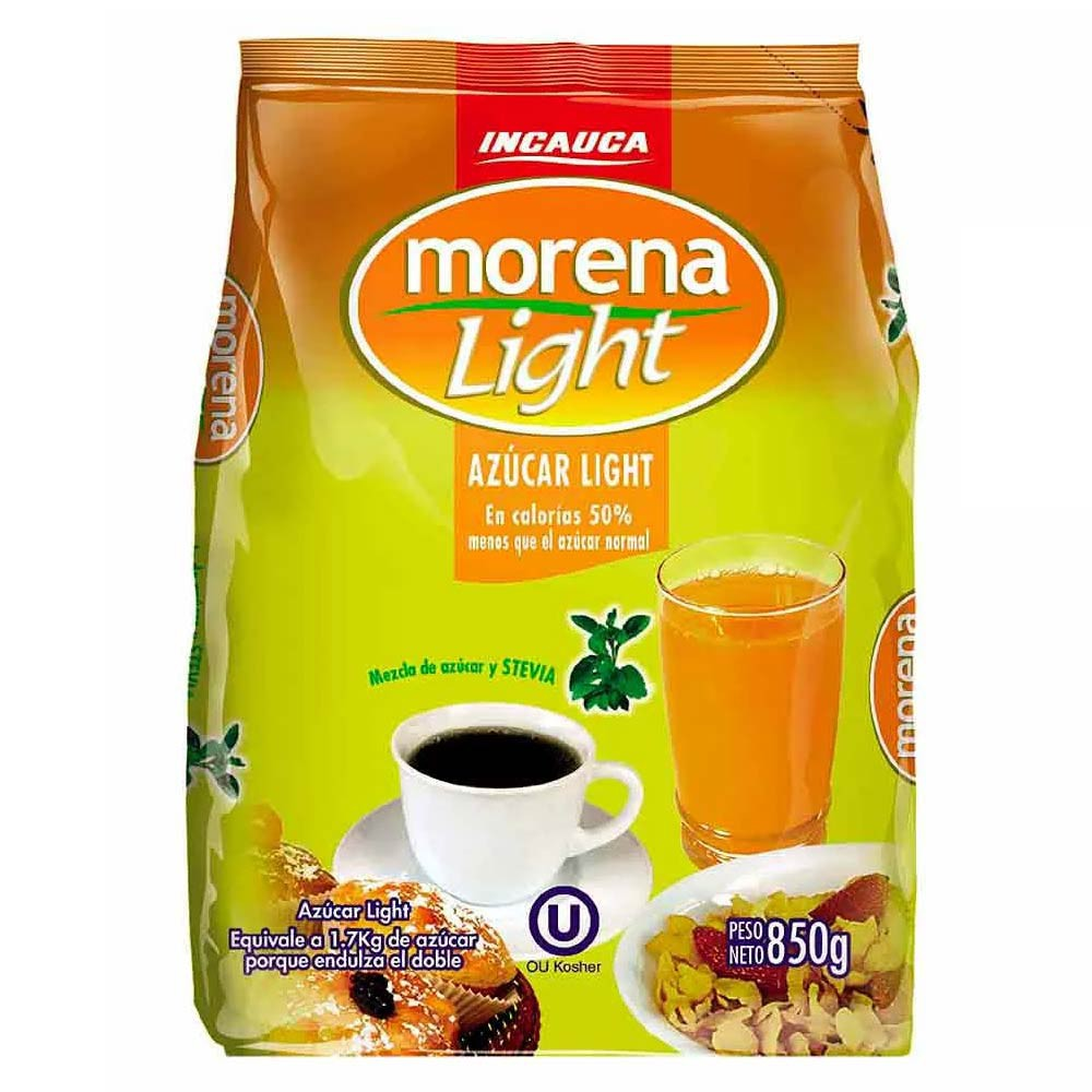 Azúcar Incauca Morena light Bolsa 850 g