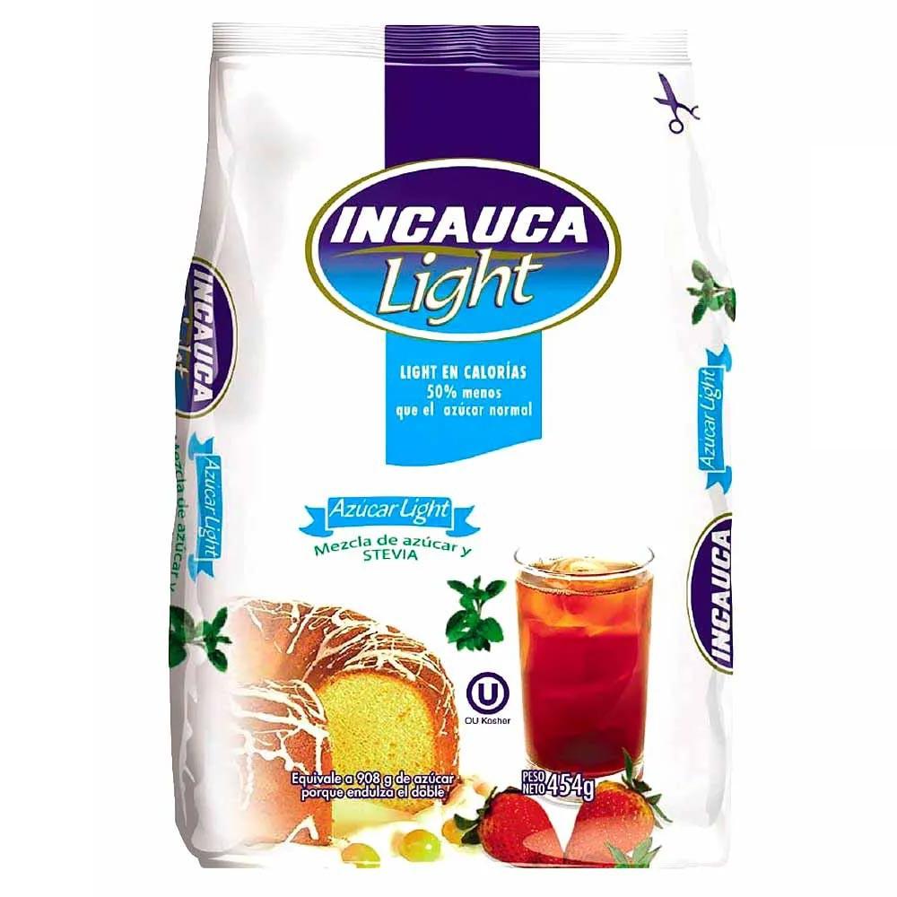 Azúcar Incauca light Bolsa x 454 g