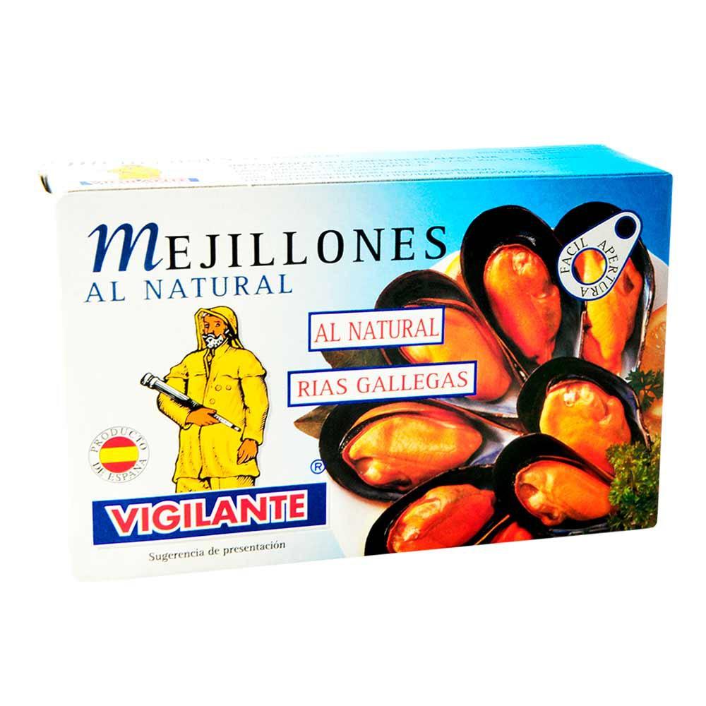 Mejillones naturales Vigilante