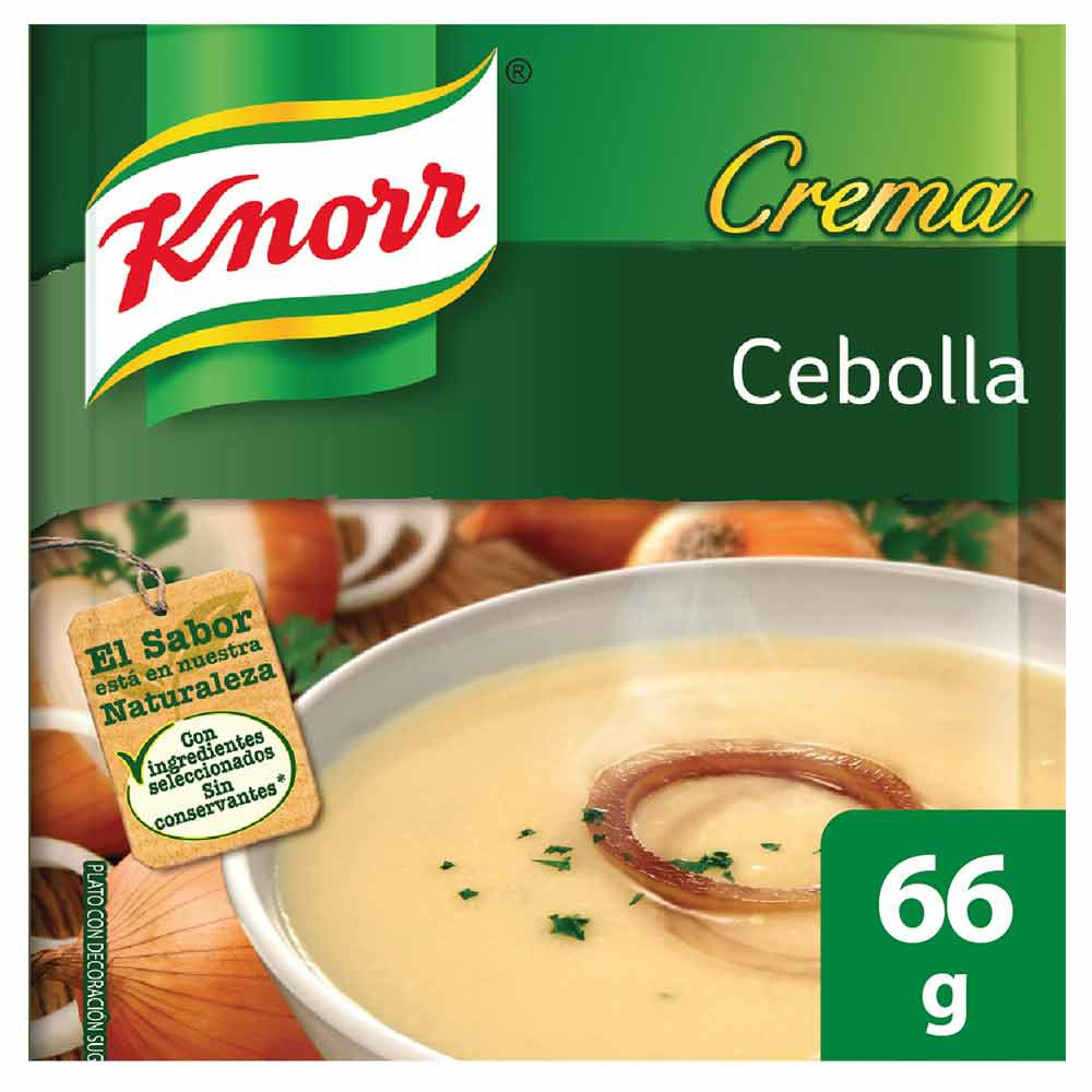 Crema de cebolla Knorr
