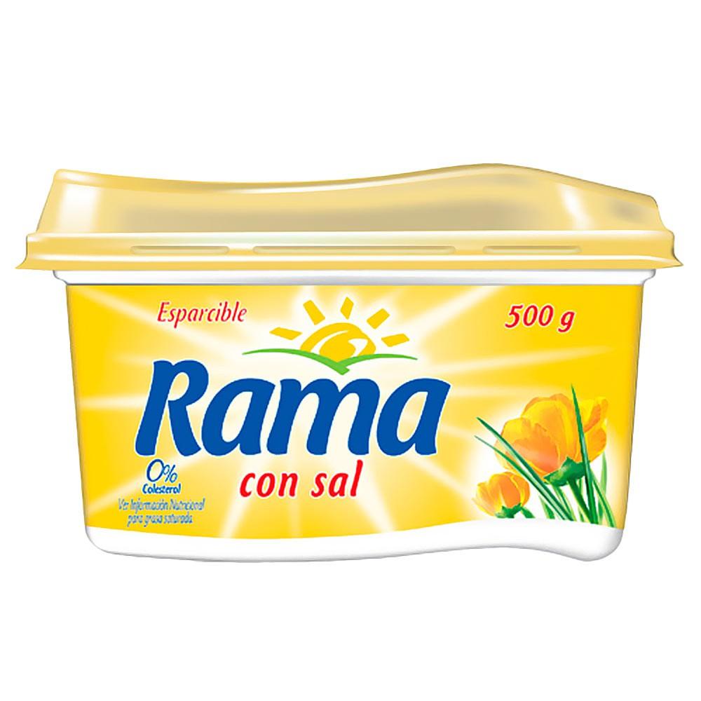 Esparcible Rama Con Sal 0% De Colesterol x 500 g
