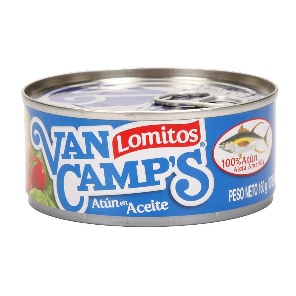 Atún Van Camps Lomitos Aceite