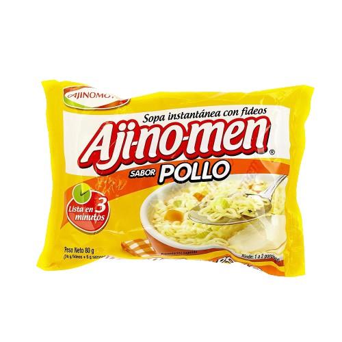 Sopa instantánea sabor pollo