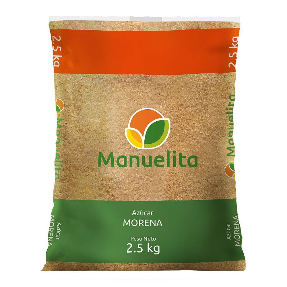 Azúcar Manuelita Morena