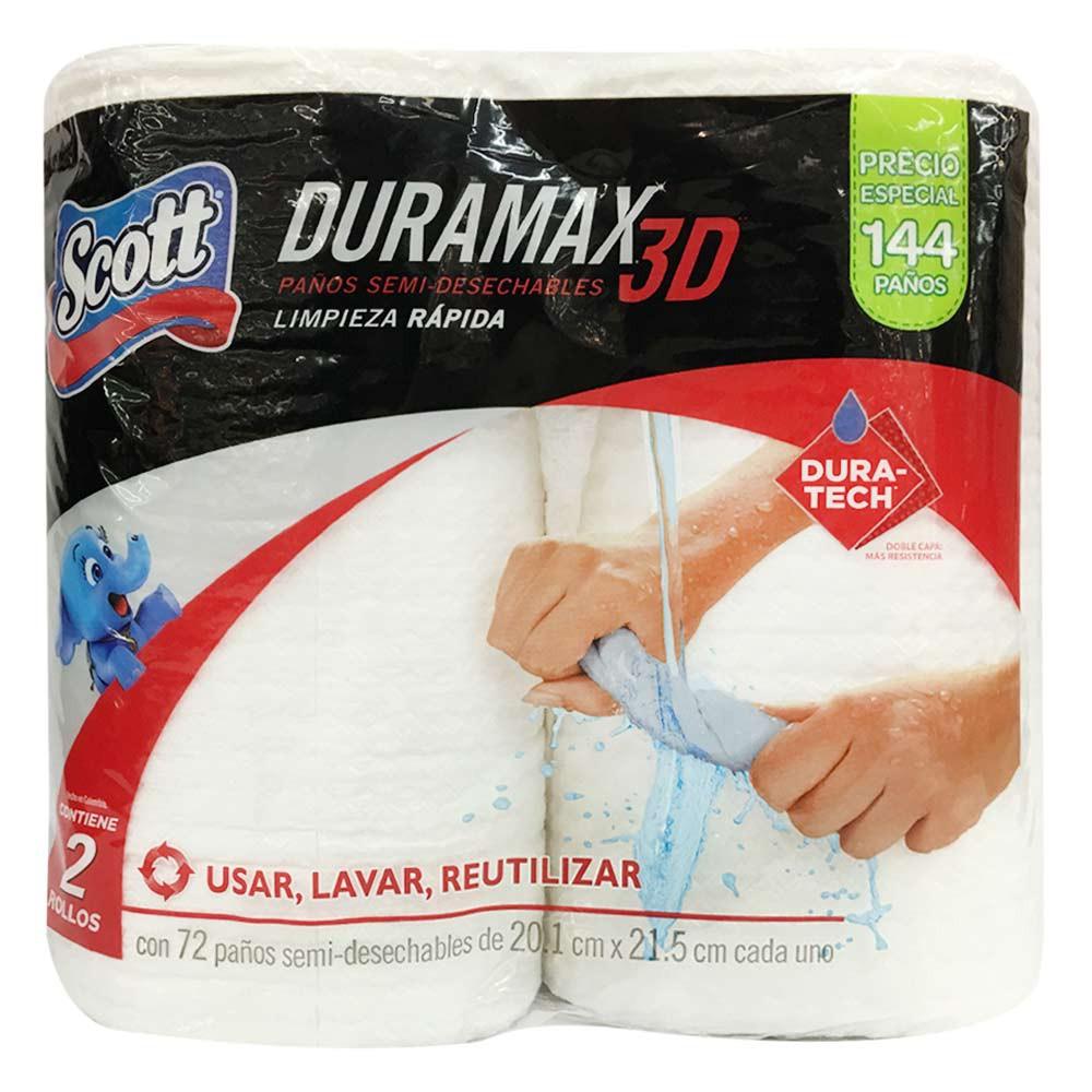 Paño Duramax 3d semidesechable