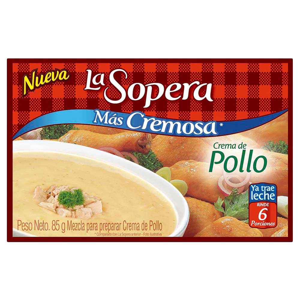 Crema La Sopera de Pollo