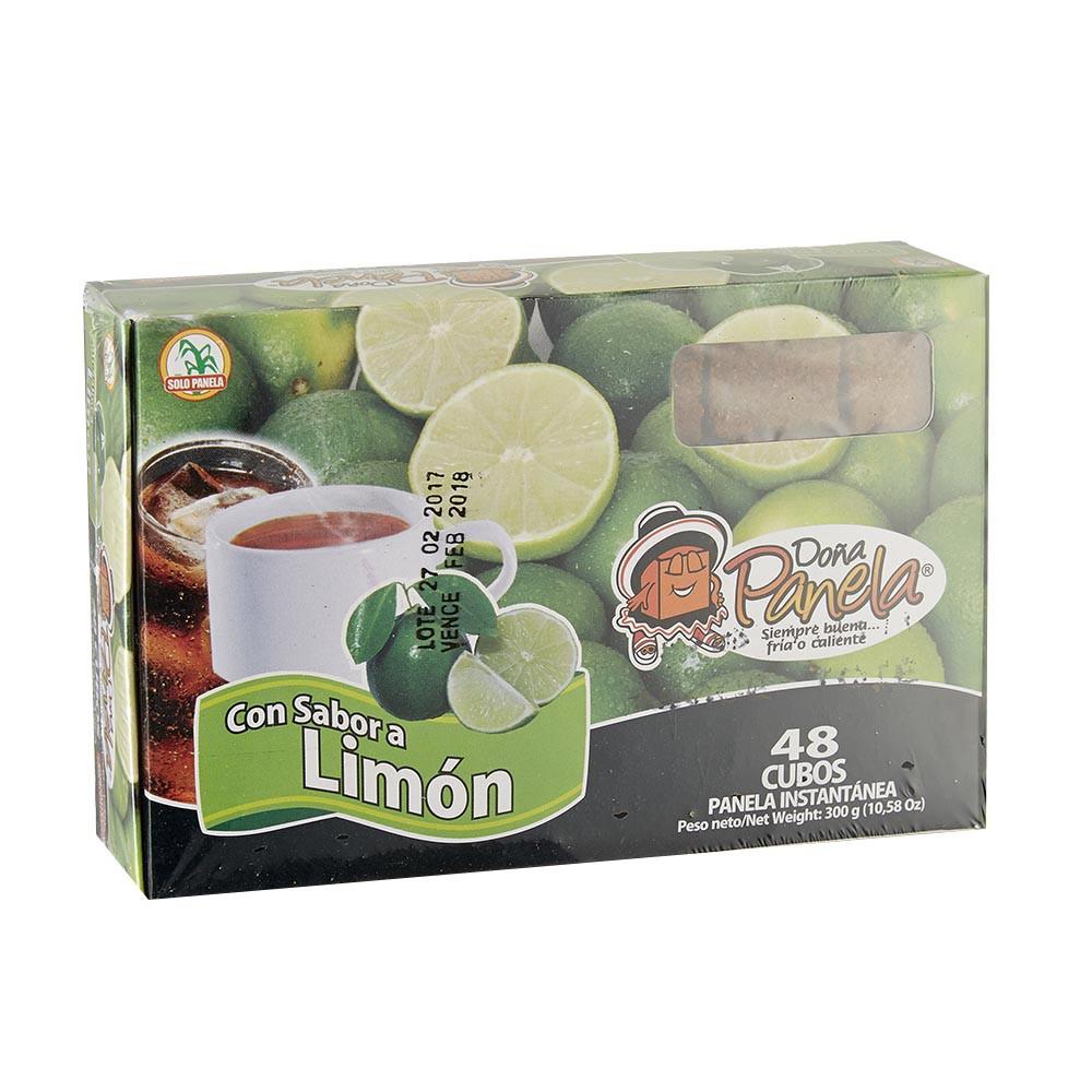Panela Doña Panela cubos limón display
