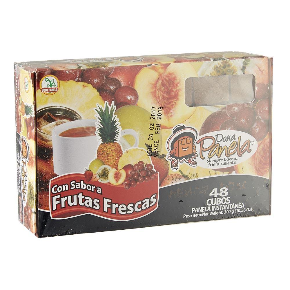 Panela Doña Panela frutas frescas