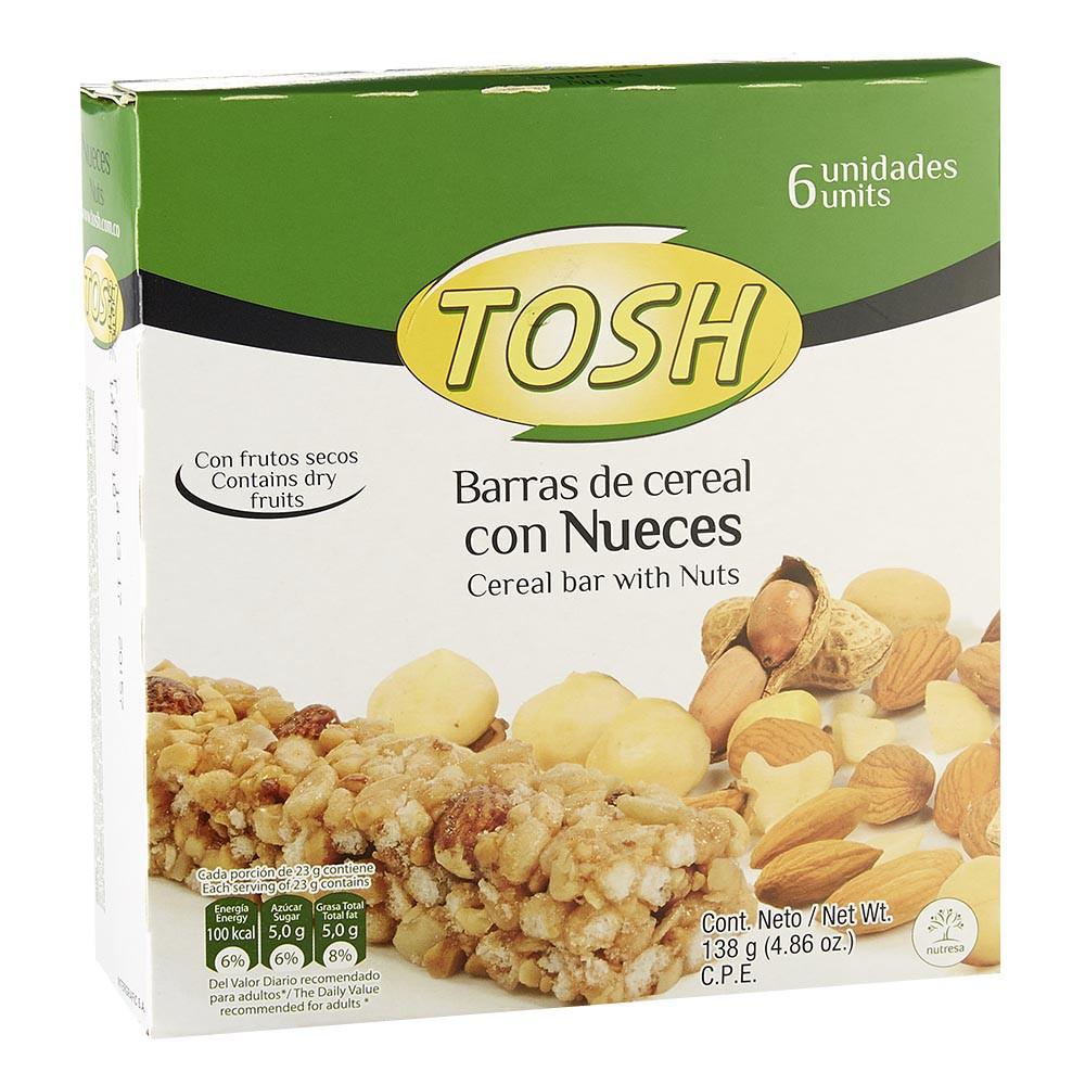 Barra de Cereal Nueces Tosh
