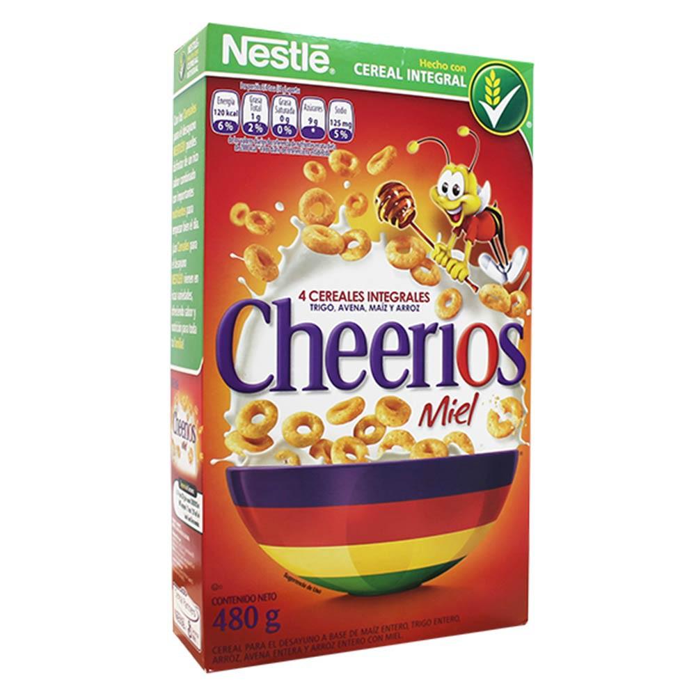 Cereal Cheerios Miel Caja x 480 g