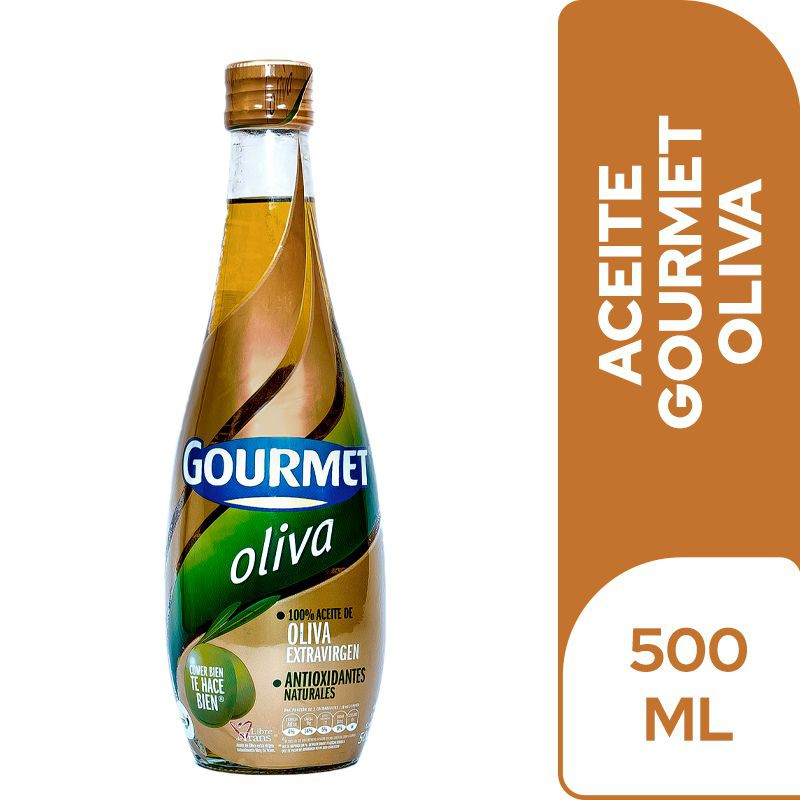 Aceite de oliva extra virgen Gourmet frasco