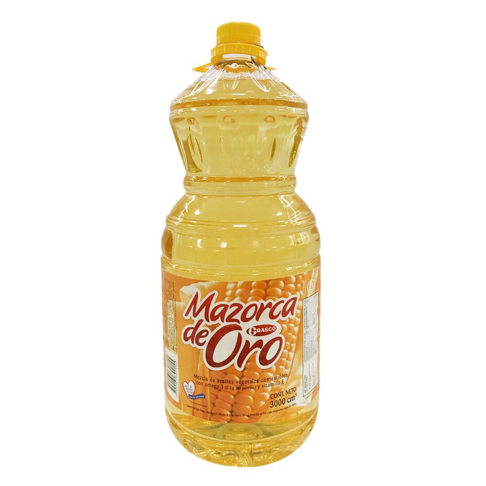 Aceite mazorca de oro Garrafa
