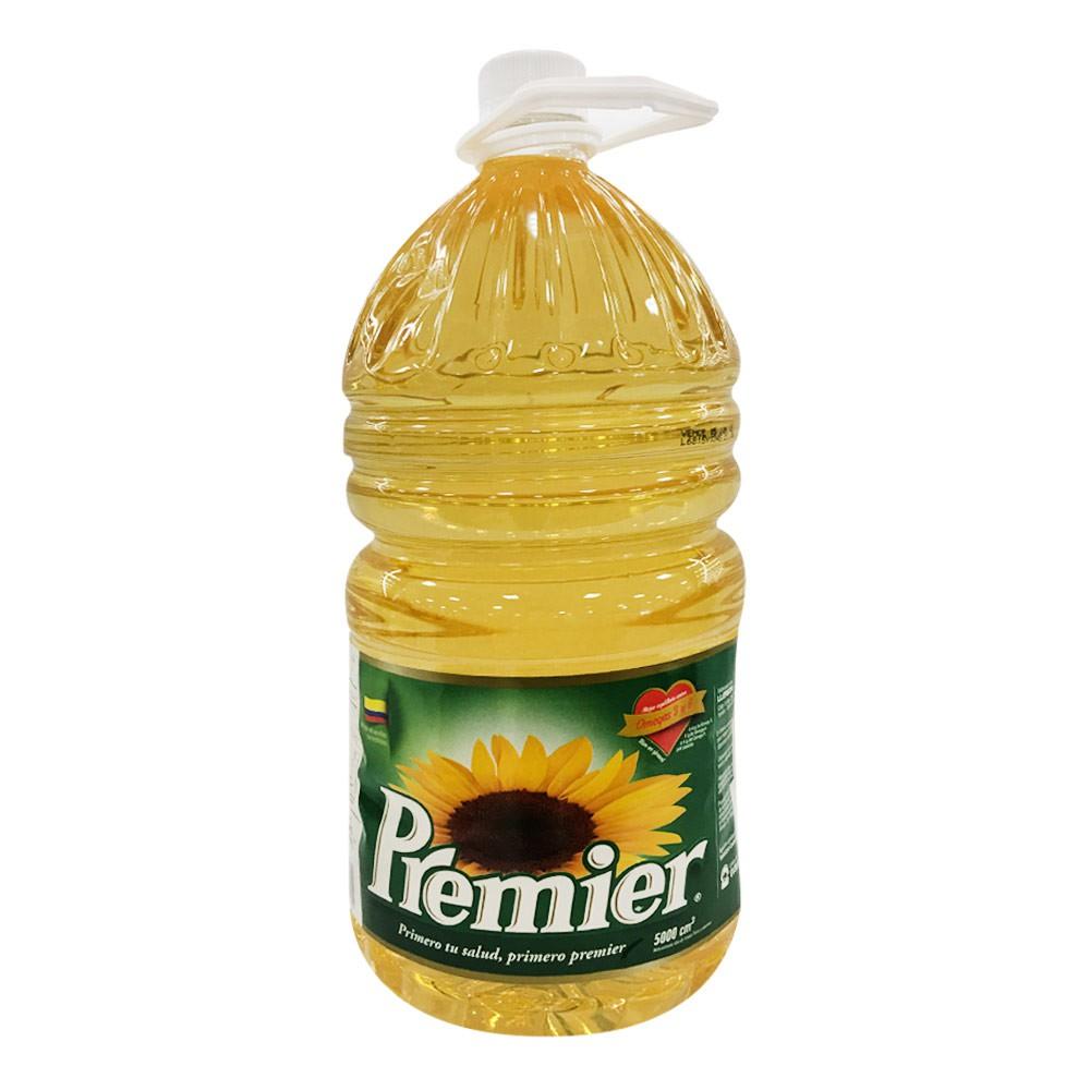 Aceite Girasol Premier Garrafa x 5 L