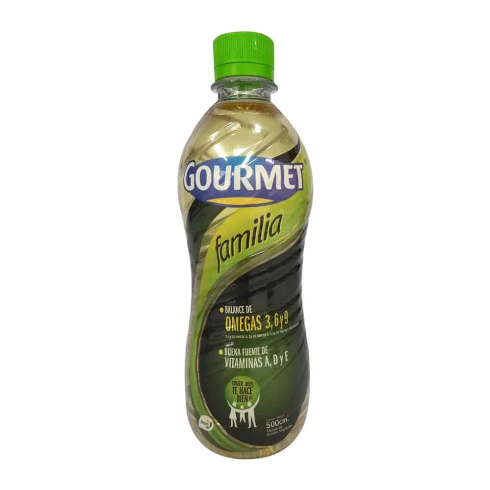 Aceite vegetal Gourmet Familiar x 500 ml