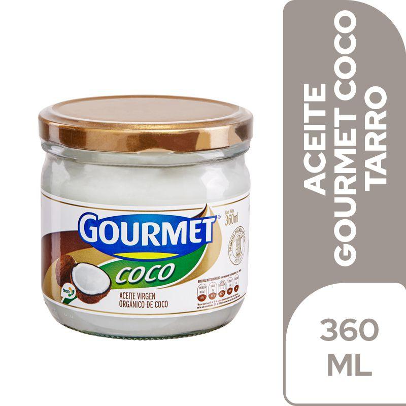 Aceite gourmet Coco Virgen Orgánico