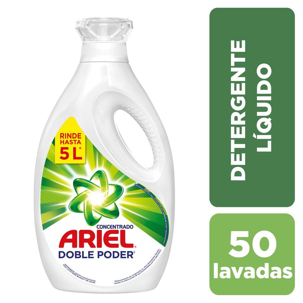 Detergente líquido concentrado doble poder