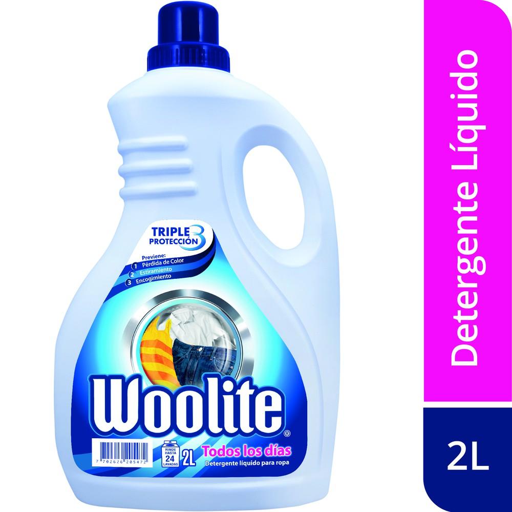 Detergente líquido todos los dias