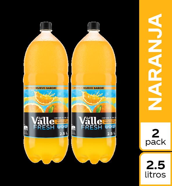 Refresco Valle Fresh Dúo Pack x 2. 5 L