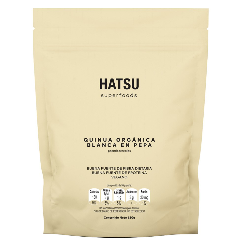 Snacks Hatsu quinua organica pepa x 150g