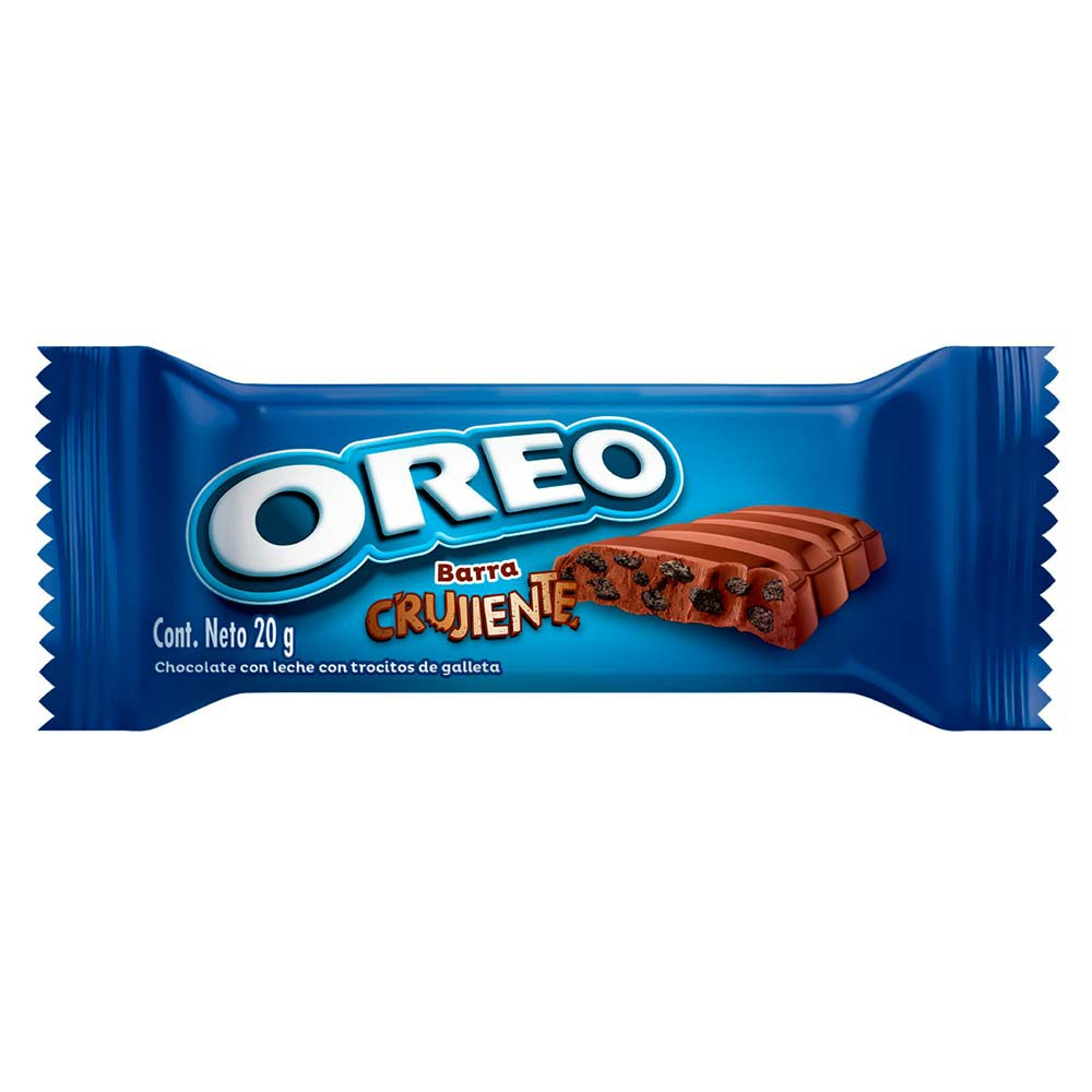 Chocolate Oreo barra crujiente