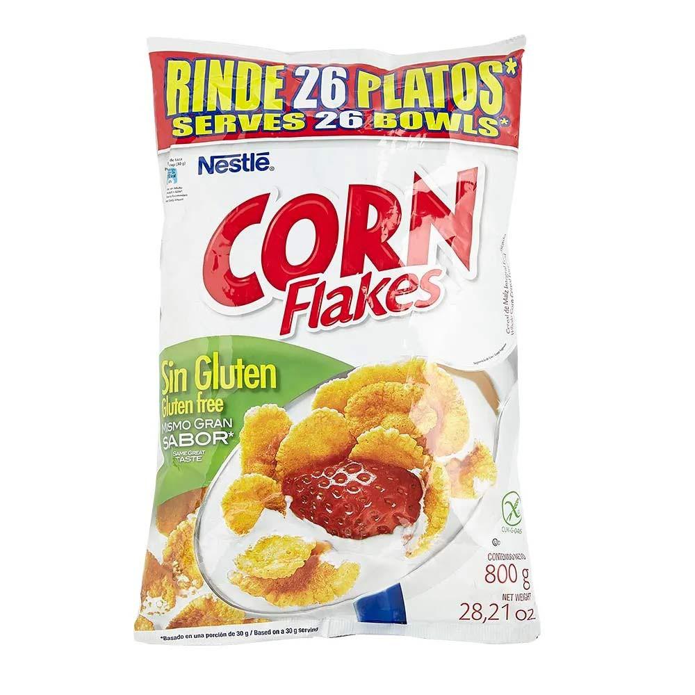 Cereal sin gluten bolsa Corn Flakes
