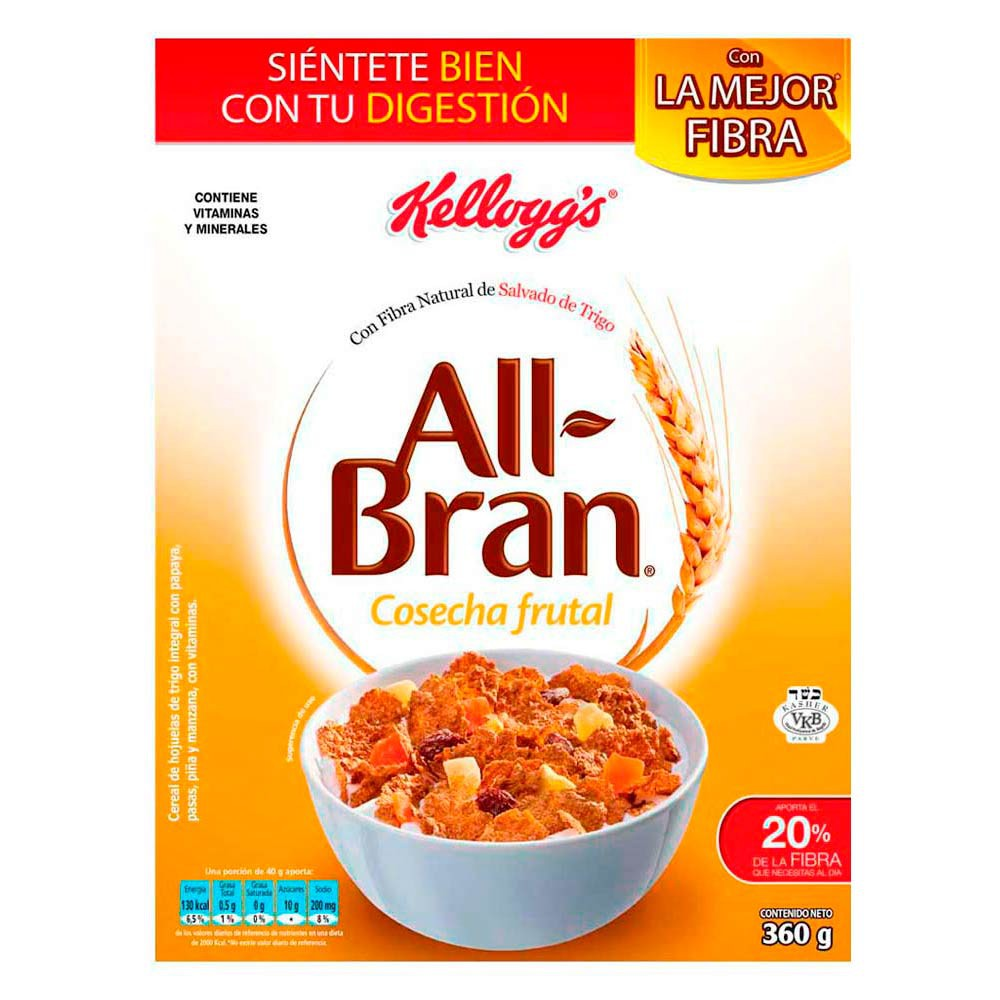 Cereal All Bran Cosecha Frutal