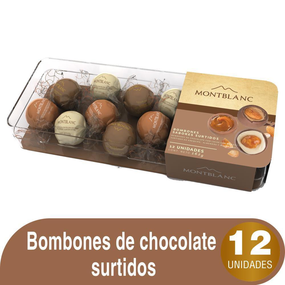 Chocolate Montblanc bombones surtidos