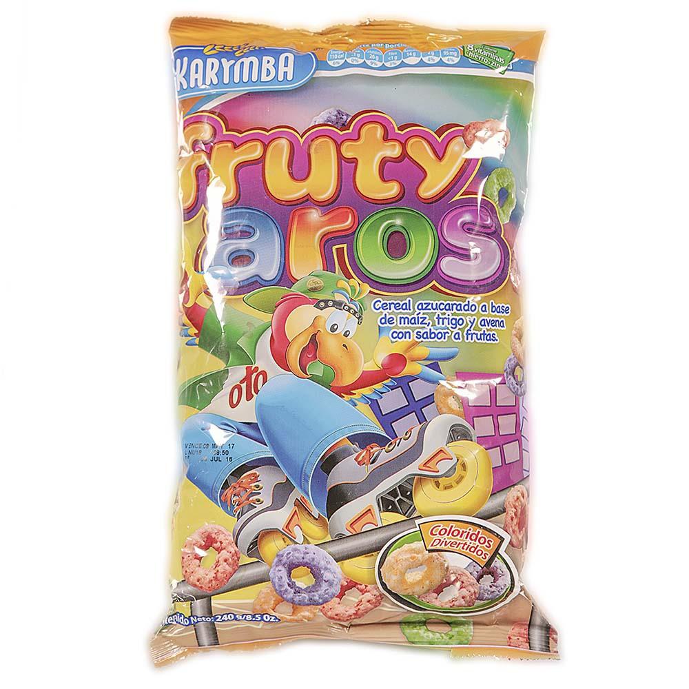Cereal fruty aros karimba