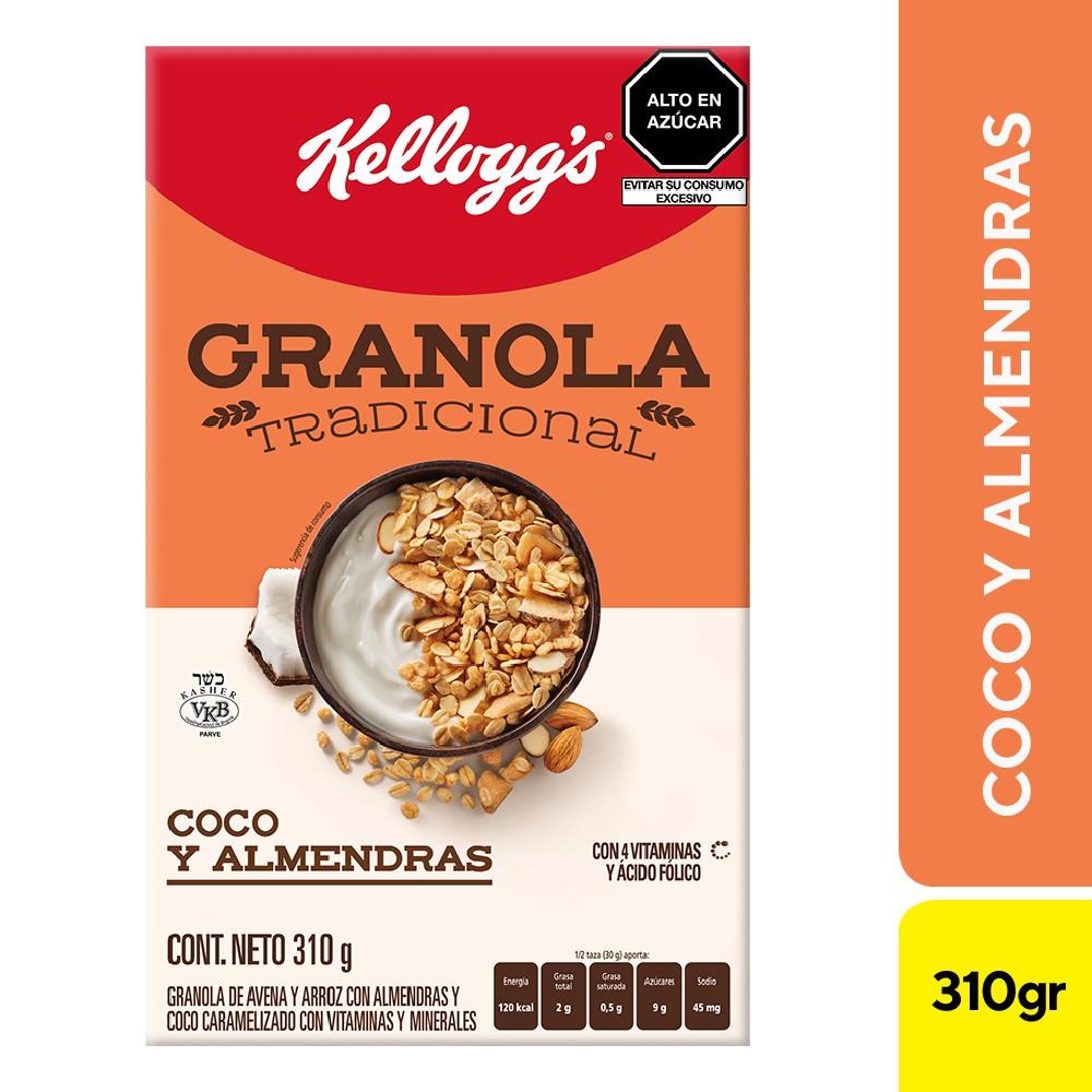 Cereal granola almendra y coco
