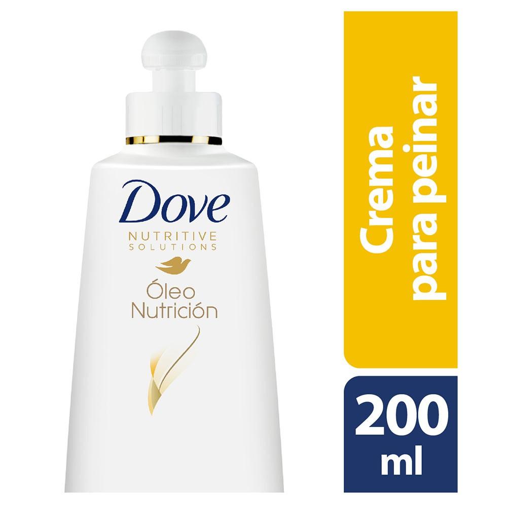 Crema para peinar Dove oleo nutrición 200 ml