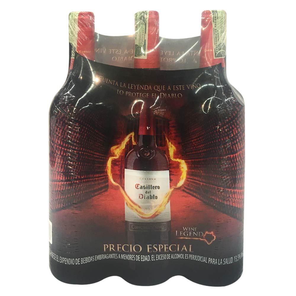 Vino Casillero Del díablo Cabernet Sauvignon x 750 ml