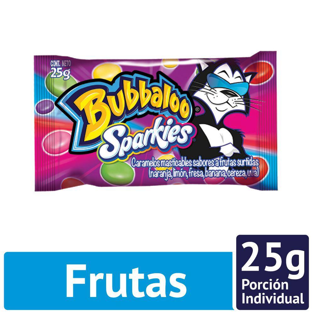 Caramelos Sparkies sabor frutas surtidas