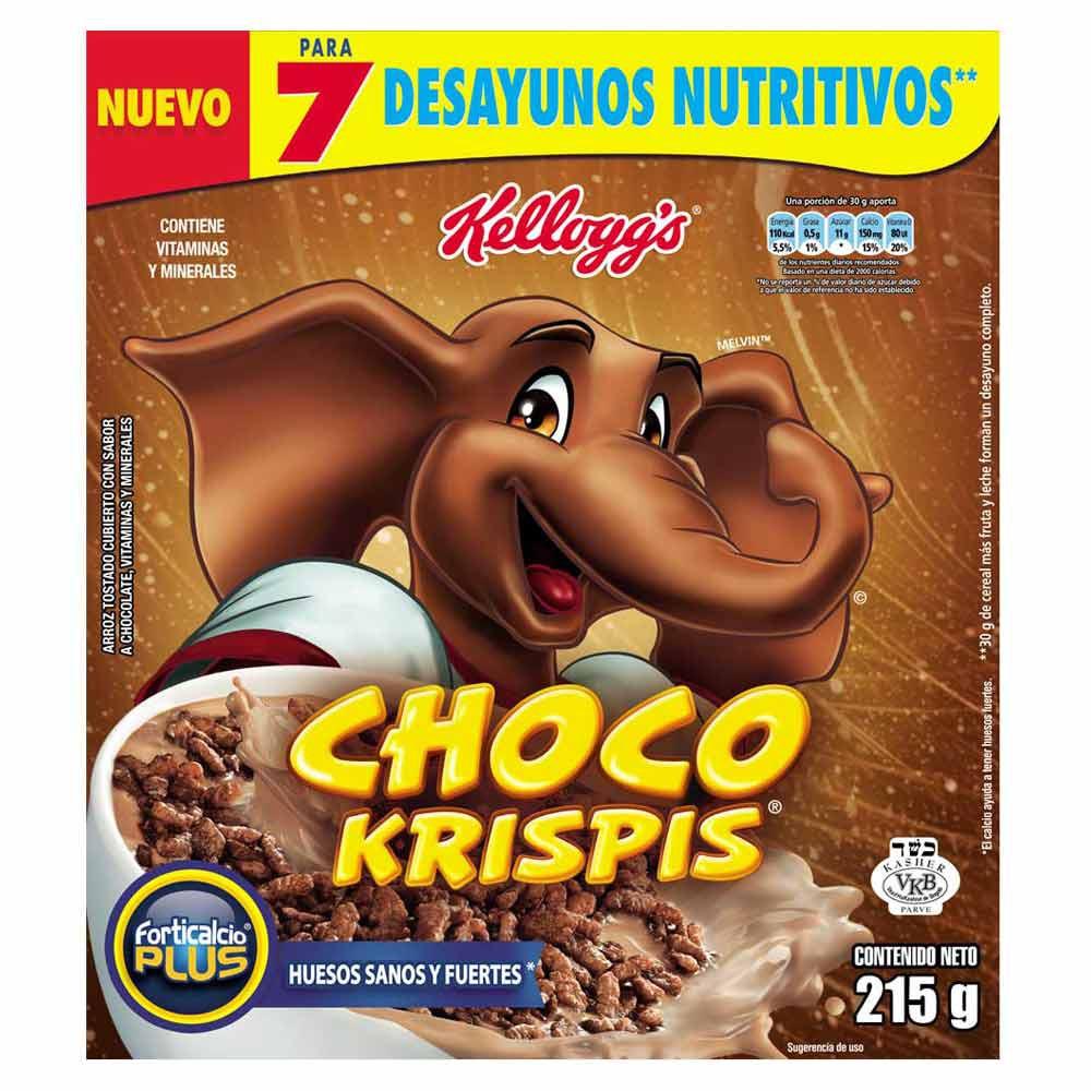 Cereal Choco Krispis Paquete x 215 g