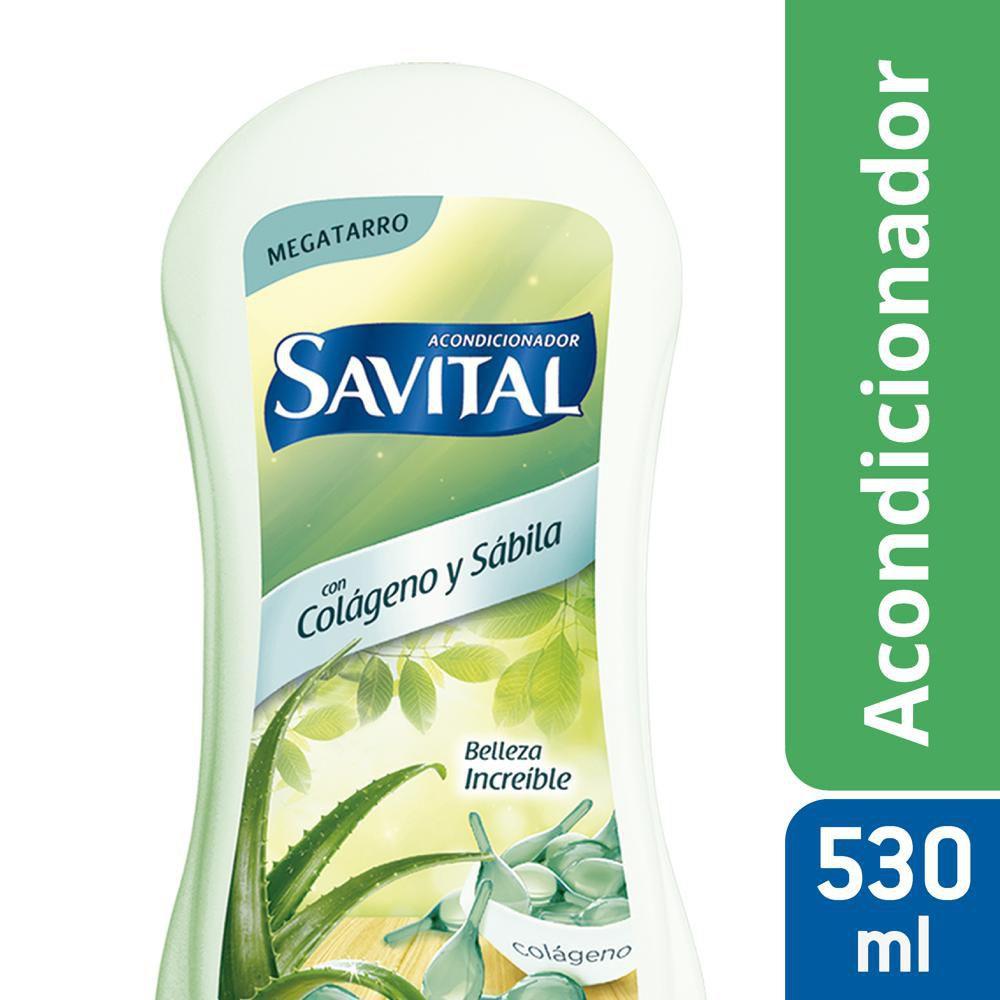 Acondicionador Savital colageno sabila