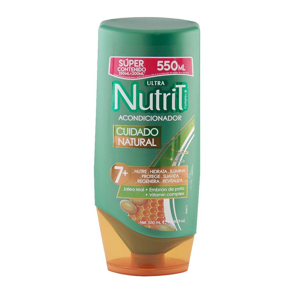 Acondicionador Nutrit cuidado natural 7 + jalea real
