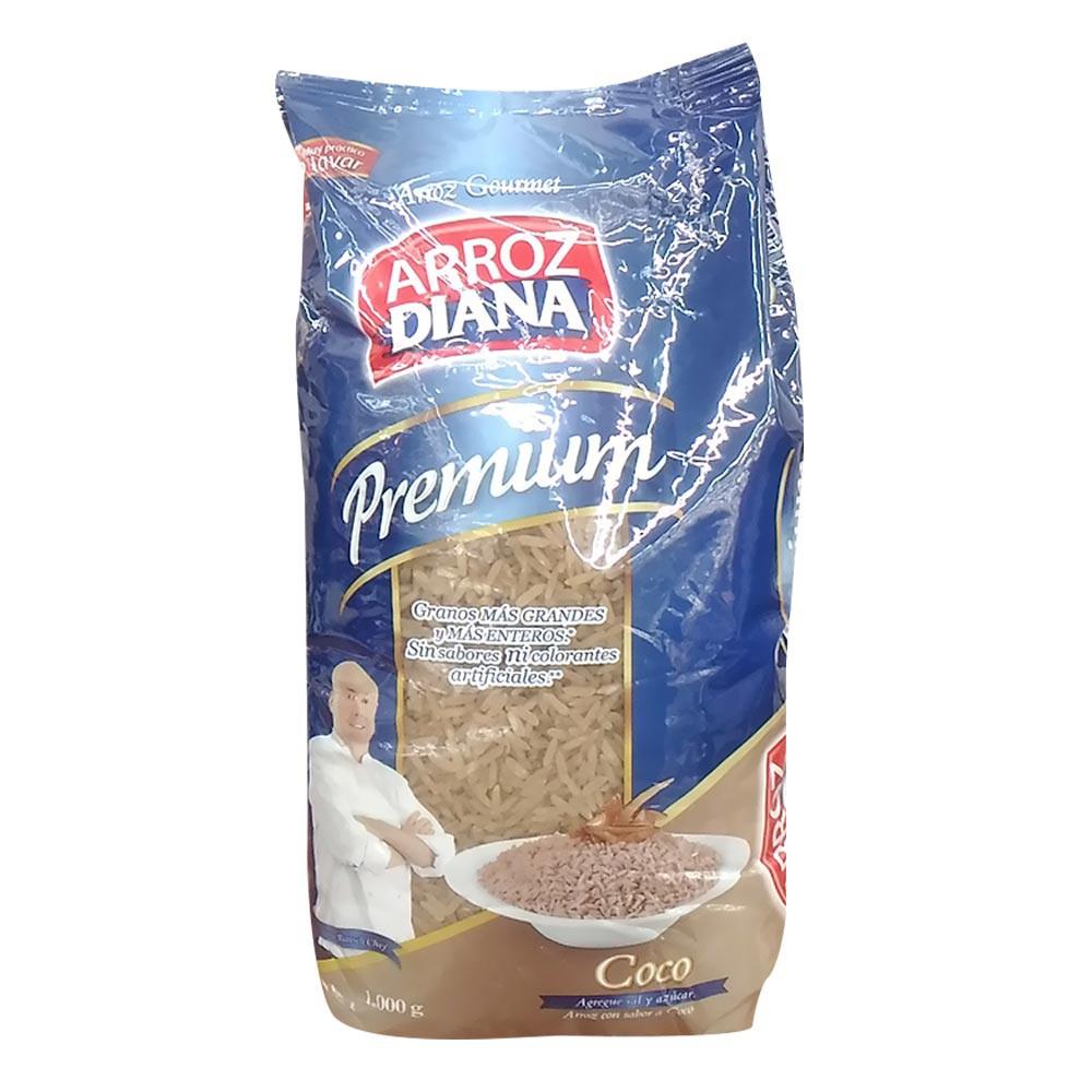 Arroz premium sabor a coco