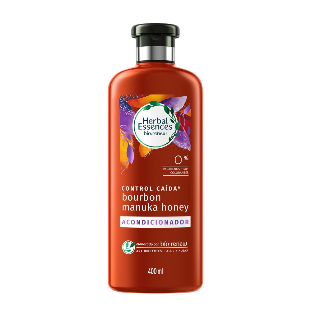 Acondicionador Herbal Essences bourbon manuka honey