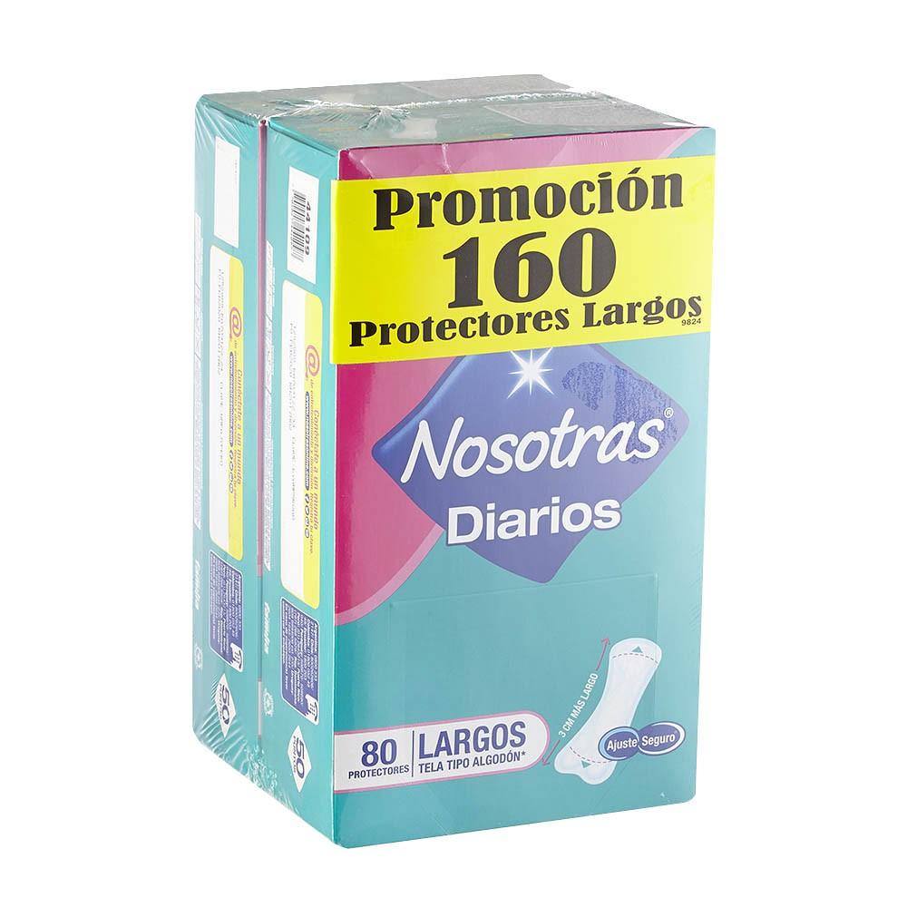 Protectores Diarios Nosotras Largos 2paq