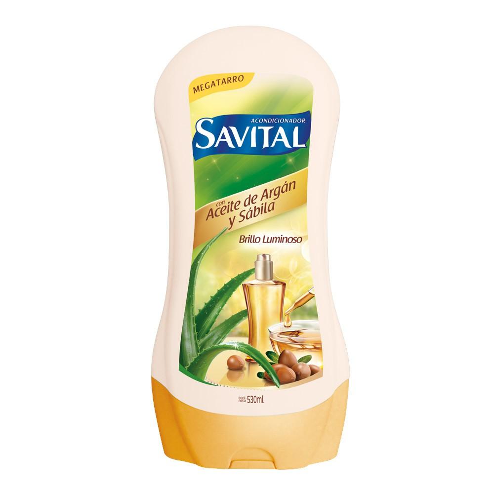 Acondicionador Savital aceite de argan sabila